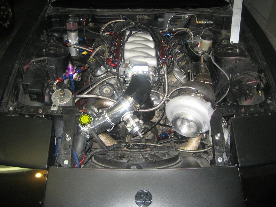 ZBUM's Z31 300ZX Engine Swap Page